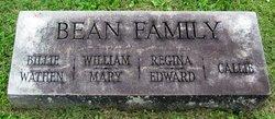 Mary Jane Mollie <i>Wathen</i> Bean