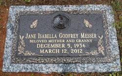 Jane Isabella <i>Godfrey</i> Messer
