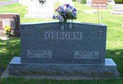 Agnes M <i>Cotter</i> Osborn