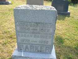 Sarah Elizabeth <i>McCarty</i> Barker