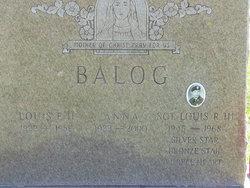 Anna <i>Saracino</i> Balog