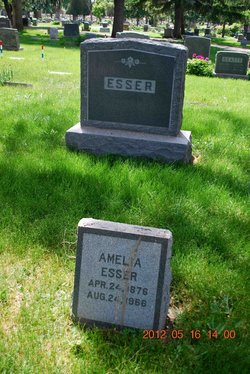 Amelia Veronica <i>Barthel</i> Esser