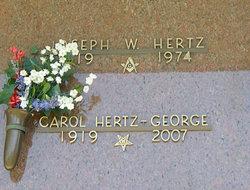 Carol <i>Mathews</i> Hertz-George