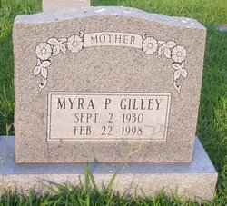 Myra P <i>Huff</i> Gilley