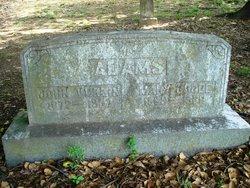 Mary <i>Goode</i> Adams
