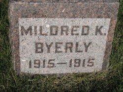 Mildred K Byerly