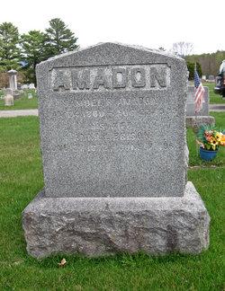 Anna Louisa <i>Brison</i> Amadon