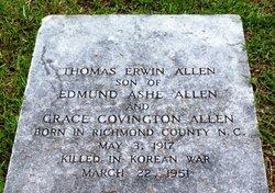 Lieut Thomas Erwin Allen