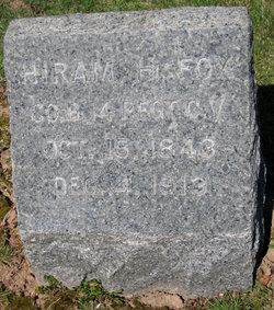 Hiram H Fox