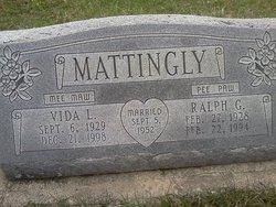 Vida Lou <i>Searle</i> Mattingly