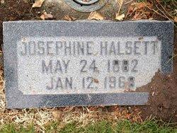 Josephine Martina Halsett