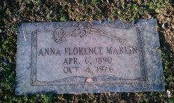 Anna Florence <i>Hutchinson</i> Marlin