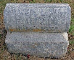 Elizabeth L. Lizzie <i>Inman</i> Aldrich