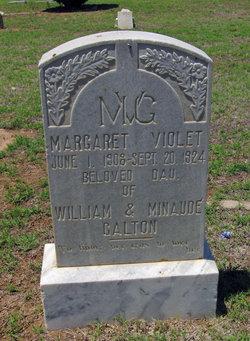 Margaret Violet Galton