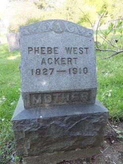 Phebe <i>West</i> Ackert