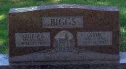 Arthur Bazzle Biggs