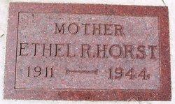 Ethel Ruth <i>Rustand</i> Horst