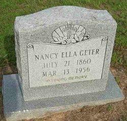 Nancy Ella <i>Tullis</i> Geter