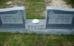 Maude Ester <i>Cockrell</i> Baker