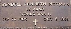 Wendell Kenneth Pittman