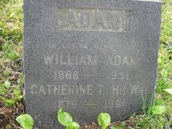 Catherine F Kate <i>(Taylor) McLellan Boyd</i> Adam