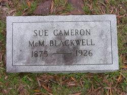 Sue Cameron <i>McMillan</i> Blackwell