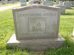 Lauren Christine Antonelli