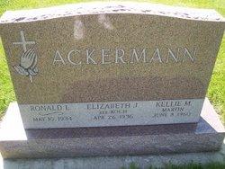 Elizabeth J <i>Koch</i> Ackermann