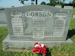 Alice B <i>Colyer</i> Corson
