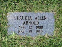Claudia <i>Allen</i> Arnold