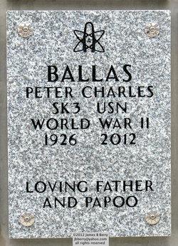 Peter Charles Ballas