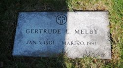 Gertrude L Melby