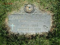 Martha Rose <i>Hootz</i> DeFries