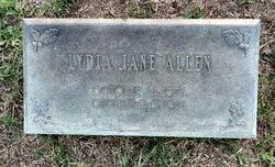 Lydia Jane <i>Miller</i> Allen