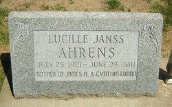Lucille Janss Ahrens