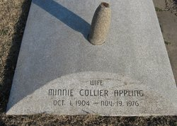 Minnie <i>Collier</i> Appling
