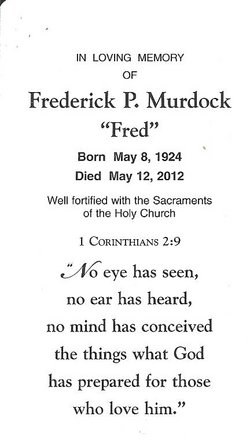 Frederick P. Fred Murdock