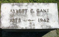 Aylett C Gant