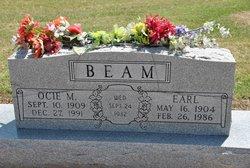 Ocie M Beam