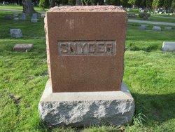 Joseph Wright Snyder