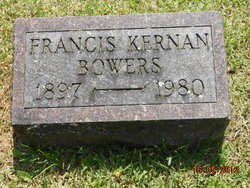 Francis <i>Kernan</i> Bowers