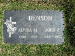 Alvira M. <i>Finckh</i> Benson