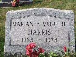 Marion E <i>McGuire</i> Harris