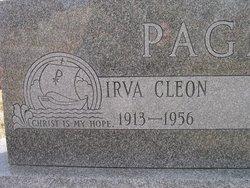 Irva Cleon <i>Mathews</i> Page