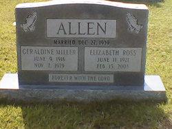 Elizabeth <i>Ross</i> Allen