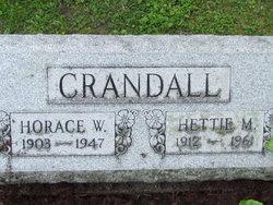 Hettie May <i>Dorr</i> Crandall