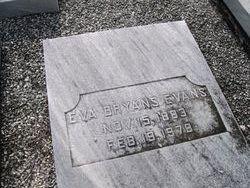 Eva <i>Bryans</i> Evans