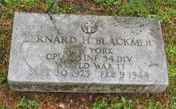 Bernard H Blackmer