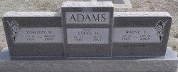 Wayne E Adams