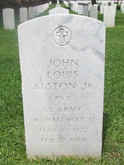 Pvt John L Alston, Jr